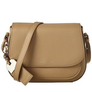 NWT • Marc Jacobs • Small Leather Saddle Bag